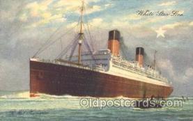 shi042018 - R.M.S. Homeric White Star Line, Lines, Liner, Ship Ships Postcard Postcards