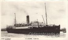 shi042030 - S.S. Calgaric White Star Line, Lines, Liner, Ship Ships Postcard Postcards