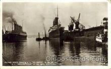 shi042044 - White Star Olympic Ship Postcard Post Card Sister Ship of the Titanic Ship