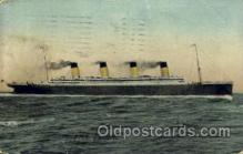 shi042067 - White Star Olympic Ship Postcard Post Card Sister Ship of the Titanic Ship