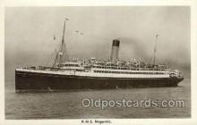 shi042087 - RMS Megantic White Star Line, Ship Postcard Postcards