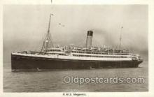 shi042088 - RMS Megantic White Star Line, Ship Postcard Postcards