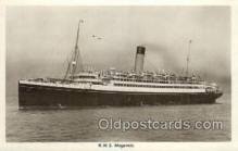 shi042089 - RMS Megantic White Star Line, Ship Postcard Postcards