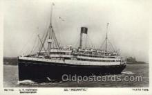 shi042090 - SS Megantic White Star Line, Ship Postcard Postcards
