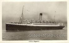 shi042091 - RMS Megantic White Star Line, Ship Postcard Postcards