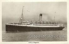 shi042092 - RMS Megantic White Star Line, Ship Postcard Postcards