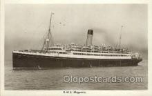 shi042093 - RMS Megantic White Star Line, Ship Postcard Postcards