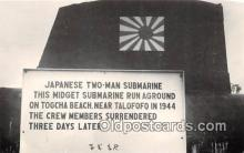 Reproduction - Submarine - Japanese Two Man Submarine