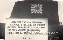 Reproduction - Japanese Two Man Submarine