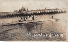 shi043016 - Foreign Submarine  Ship Postcard Post Card