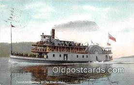 shi045002 - St Joe River, Idaho Ship Postcard Post Card