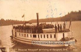 Yaquina Bay, Steamer Newport