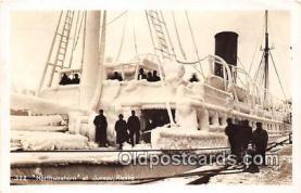 shi045010 - Real Photo - Northwestern Juneau, Alaska Ship Postcard Post Card