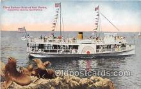 Glass Bottom Boat, Seal Rock