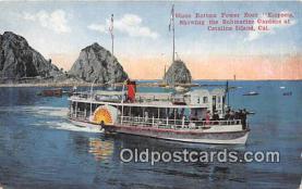 Glass Bottom Power Boat Empress