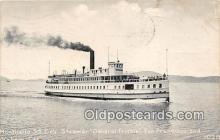 Monticello SS Cos Steamer, General Frisbie