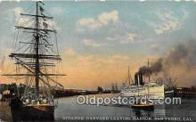 shi045026 - Panama California Exposition San Diego 1915, Steamer Harvard San Pedro, Cal USA Ship Postcard Post Card
