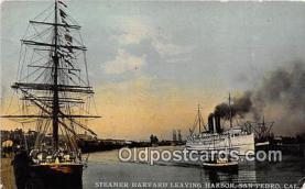 Panama California Exposition San Diego 1915, Steamer Harvard