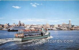 shi045031 - Harbor Tourist Seattle Ship Postcard Post Card