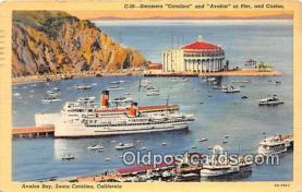 Steamers Catalina & Avalon