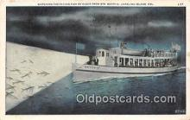 shi045042 - Str Berry O Catalina Island, California USA Ship Postcard Post Card