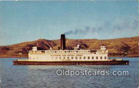 shi045044 - Richmond San Rafael Auto Ferry Oakland, California USA Ship Postcard Post Card