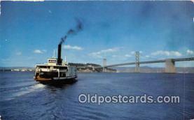 Ferry in Bay