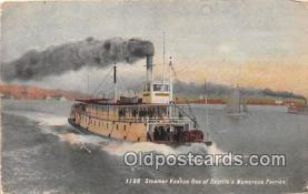 shi045066 - Steamer Vashon Seattle Ship Postcard Post Card