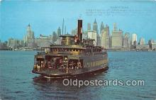 shi045072 - Westfield 1949, Jersey Central Ferry Westfield New Jersey USA Ship Postcard Post Card