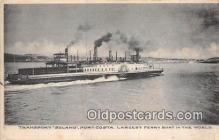 shi045081 - Transport Solano Port Costa Ship Postcard Post Card