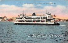 shi045082 - San Diego & Coronado Ferry San Diego, California USA Ship Postcard Post Card