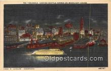 shi045093 - Kalakala Seattle Harbor Ship Postcard Post Card