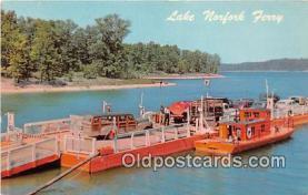 shi045097 - US Highway 62 & 101 Ferry Panther Bay Landing, Norfork Lake Ship Postcard Post Card