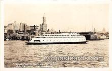shi045100 - Real Photo - World's First Streamliner Motor Seattle, Washington Ship Postcard Post Card
