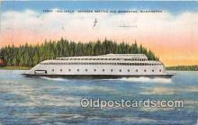 shi045103 - Ferry Kalakala Bremerton, Washington USA Ship Postcard Post Card
