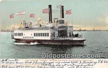 shi045107 - Ferry Steamer Ramona Coronado, California USA Ship Postcard Post Card