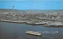 shi045110 - Ferryboat Tillikum Elliott Bay, Seattle, Washington USA Ship Postcard Post Card