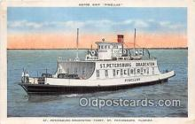 shi045121 - Motor Ship Pinellas St Petersburg, Florida USA Ship Postcard Post Card