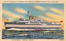 shi045128 - SS Pocahontas Norfolk, Virginia USA Ship Postcard Post Card