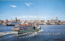 shi045129 - Harbor Tourist Seattle USA Ship Postcard Post Card