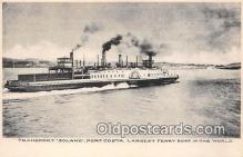 shi045130 - Transport Solano Port Costa Ship Postcard Post Card