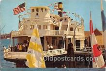 shi045138 - Old Ferry Boat Sierra Nevada San Pedro, California USA Ship Postcard Post Card