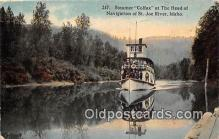 shi045141 - Steamer Colfax St Joe River, Idaho USA Ship Postcard Post Card