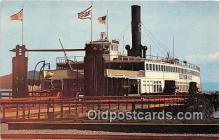 shi045143 - Trade Fair, Ferry Boat Berkeley Sausalito, California USA Ship Postcard Post Card
