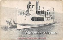 shi045147 - The Montana, Flathead Lake Polson, Mont USA Ship Postcard Post Card