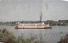 shi045151 - Delta Queen Tennessee & Mississippi Rivers USA Ship Postcard Post Card