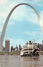 shi045152 - Delta Queen Gateway Arch Ship Postcard Post Card