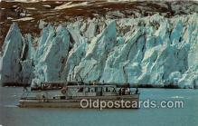 shi045159 - Glacier Bay Cruise Plateau Glacier Ship Postcard Post Card