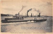 shi045171 - Transfer Boat Solano Shasta Route Ship Postcard Post Card