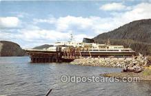 shi045172 - MV Malaspina, MV Taku, MV Matanuska Alaska Marine Highway USA Ship Postcard Post Card